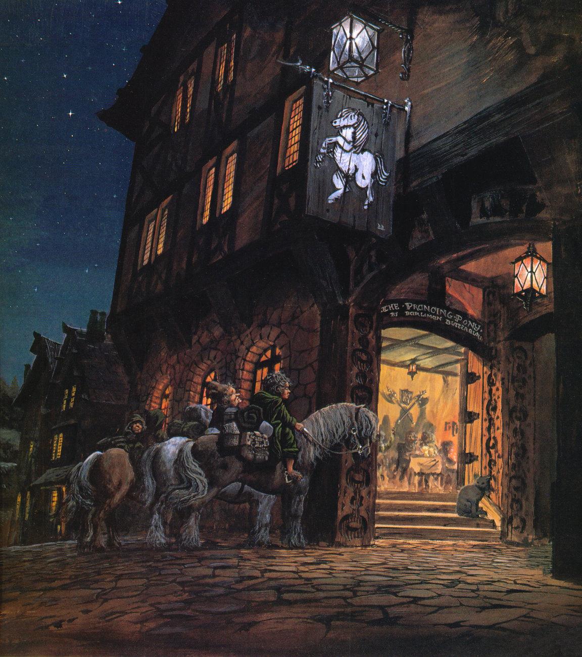 Иллюстрации К Книге Властелин Колец Алан Ли